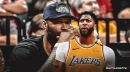 Lakers star Anthony Davis reacts to DeMarcus Cousins' ACL injury
