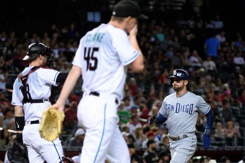 Photos: Padres at Diamondbacks