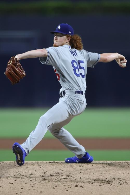 Despite dominance, Dustin May isn't guaranteed to make the Dodgers' postseason roster