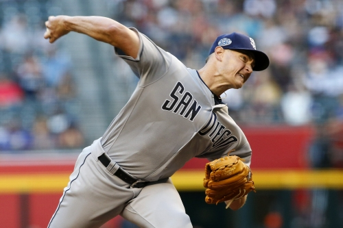 Padres lose as Richards completes first step; Machado homers again; Urias has big night