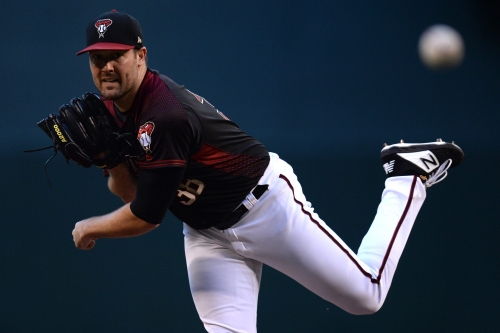 D-Backs' Robbie Ray after his final start of the season
