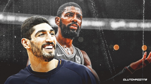 Enes Kanter refers to Kyrie Irving as 'a guy who shall not be named'