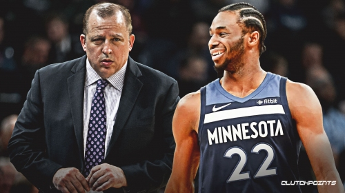Timberwolves' Andrew Wiggins throws shade at Tom Thibodeau, implies he 'was on the rise' until he came along