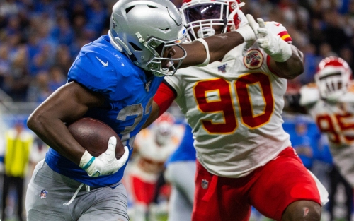 Detroit Lions' Kerryon Johnson finally gets a starring role in the backfield