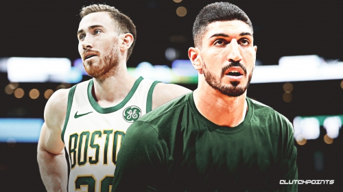 Celtics' Enes Kanter claims Gordon Hayward is 100% back, will 'shock the world' this season