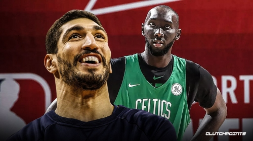 Celtics' Enes Kanter says he and Tacko Fall make each other better