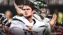 Jets balancing Sam Darnold, Luke Falk in practice with decision looming