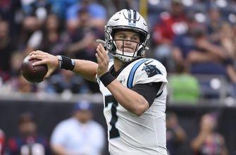 Jaguars, Panthers thriving behind backup QBs Minshew, Allen