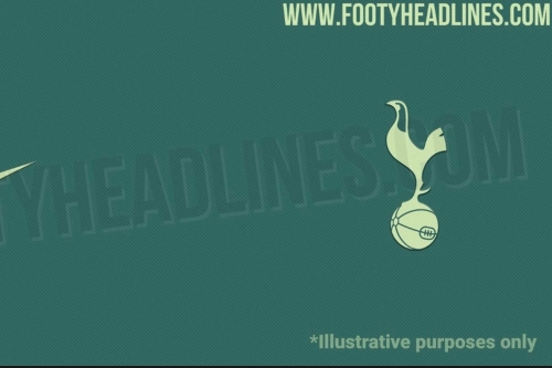 Tottenham's 2020-21 away kit color scheme has leaked, and they're GREEN