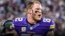 Vikings TE Kyle Rudolph getting used to 'blocking a lot' this season