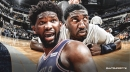 Joel Embiid has been busting Roy Hibbert's ass in workouts