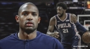 Al Horford believes Sixers star Joel Embiid is 'the best big man in the league right now'