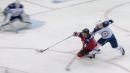 Blake Coleman snipes absurd one-handed goal while falling vs. Jets