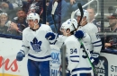 Maple Leafs fire their way past the Blue Jackets