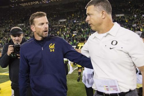 Oregon Passes Tough Test at Home, Ducks 17- Golden Bears 7