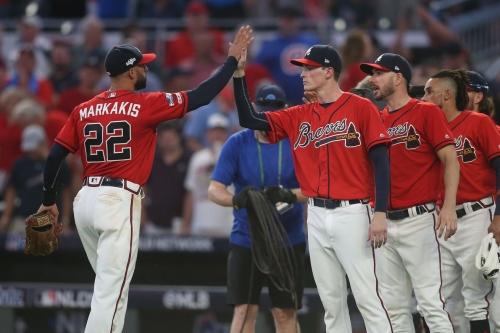 Markakis, Joyce set to lead Braves charge against Wainwright