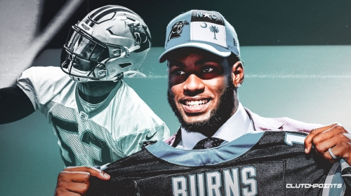 Panthers' Brian Burns scores first NFL TD with fumble return vs. Jaguars