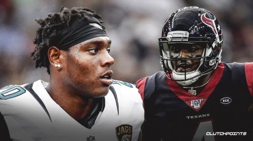 Texans QB Deshaun Watson posts Instagram photo with Jaguars' Jalen Ramsey in Houston