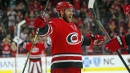 Jaccob Slavin, Hurricanes rally to beat Lightning in overtime