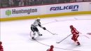 Roope Hintz fools Bernier with quick wrister to score