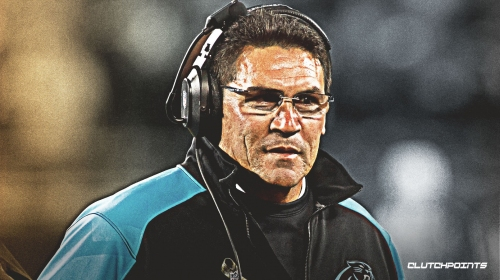 Panthers coach Ron Rivera has incredibly high praise for offensive line play vs. Jaguars