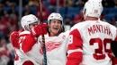 Red Wings' Mantha credits linemates Bertuzzi, Larkin for hot start