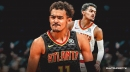 Video: Trae Young nutmegs JJ Redick, takes ball coast to coast for easy layup