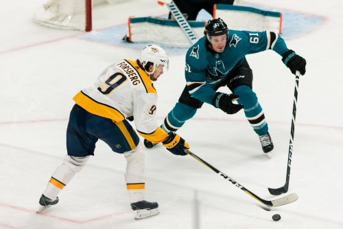 Sharks at Predators Preview: Early trip to Music City