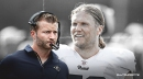 Rams coach Sean McVay updates Clay Matthews' timeline to return from broken jaw