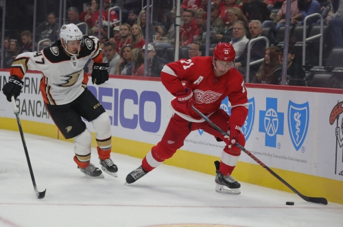 Detroit Red Wings vs. Anaheim Ducks: Photos from the game
