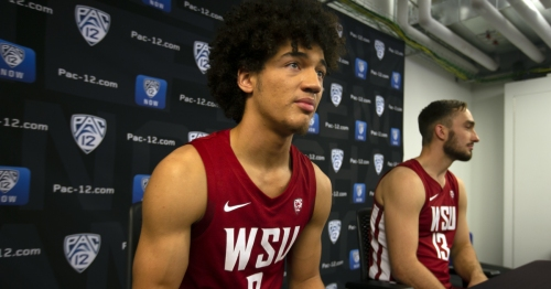 CJ Elleby says he never seriously considered transferring from Washington State