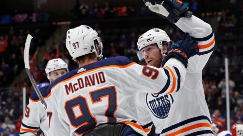 James Neal scores four goals as Oilers beat Islanders