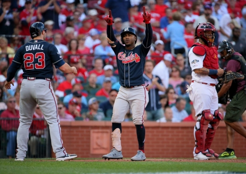 Braves add hot-hitting Duvall to lineup against Cardinals ace Flaherty