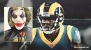 WATCH: Rams WR Brandin Cooks shows off his Joker costume