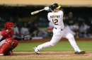 A's Sean Murphy has surgery on troublesome left knee