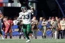 Video: Jets' Jamal Adams celebrates after winning appeal of fine for Baker Mayfield hit