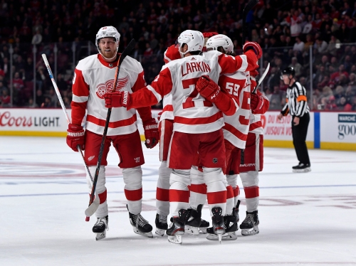 Detroit Red Wings 4, Montreal Canadiens 2: Photos from Quebec