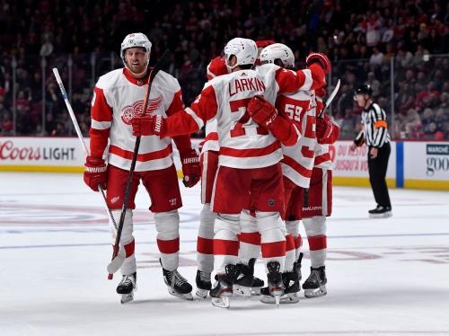 Detroit Red Wings end losing streak in Montreal, topple Canadiens, 4-2
