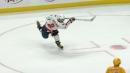 Ovechkin scores two identical power play goals vs. Predators