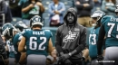 Eagles wide receiver DeSean Jackson remained sidelined on Friday