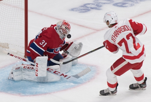 Detroit Red Wings taking baby steps in getting goals from 'whole committee'