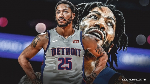 Pistons' Derrick Rose claims 50-point game with Timberwolves 'took the weight off my back'