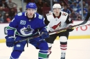 Quinn Hughes is playing big minutes against tough competition for the Canucks