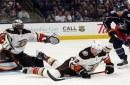 Ryan Miller's 26 saves help Ducks defeat Blue Jackets, continue their hot start