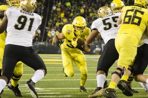 Oregon Dismantles Colorado, Ducks 45 - Buffs 3