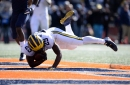 Michigan football dominating Illinois: Halftime observations
