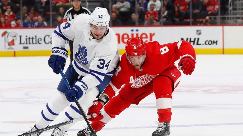 NHL Live Tracker: Maple Leafs vs. Red Wings