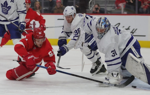 Detroit Red Wings vs. Toronto Maple Leafs: Photos from LCA