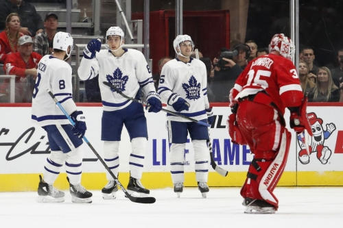 Recap: Maple Leafs bottom six get the win against the scrappy Red Wings