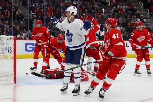Leafs beat Red Wings to halt 3-game skid